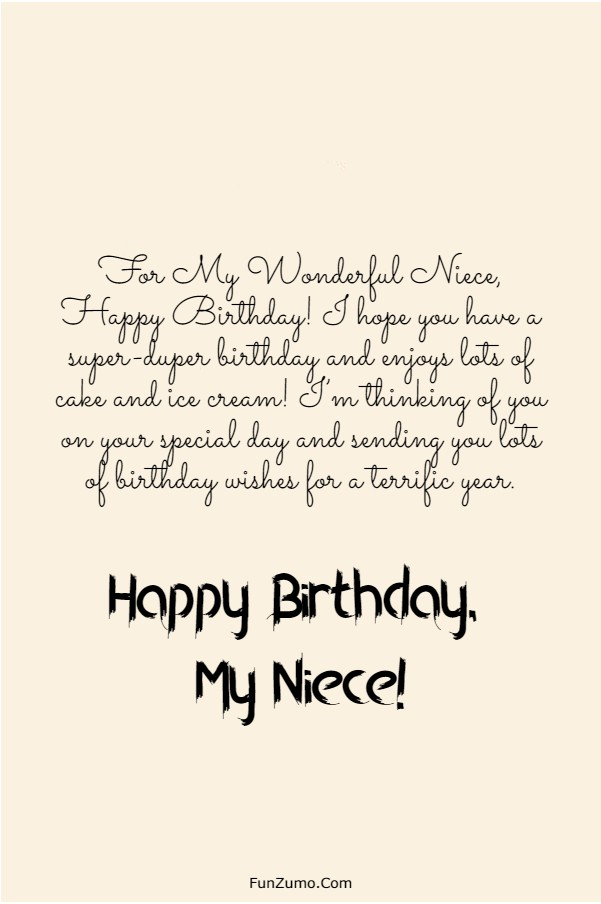 245 Happy Birthday Niece Wishes Quotes Messages | birthday greetings to niece from aunt, happy 18th birthday niece, happy birthday niece funny quotes