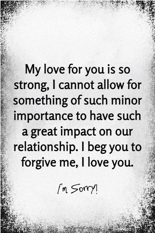 80 Heart Touching Sorry Messages for Boyfriend | Apology quotes for him, Apologizing quotes, Love quotes for him