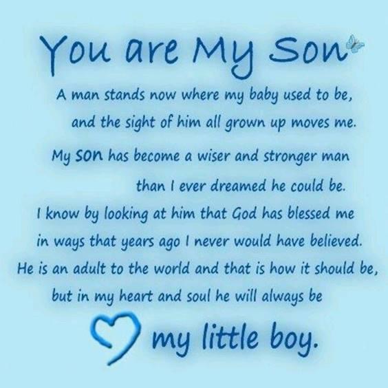Loving Son Quotes
