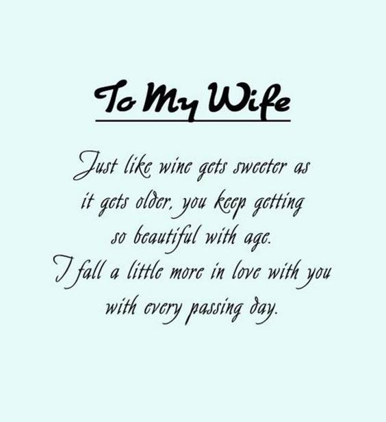 Sweet Love Messages For Your Wife
