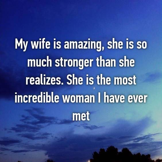 Caring Message For My Wife