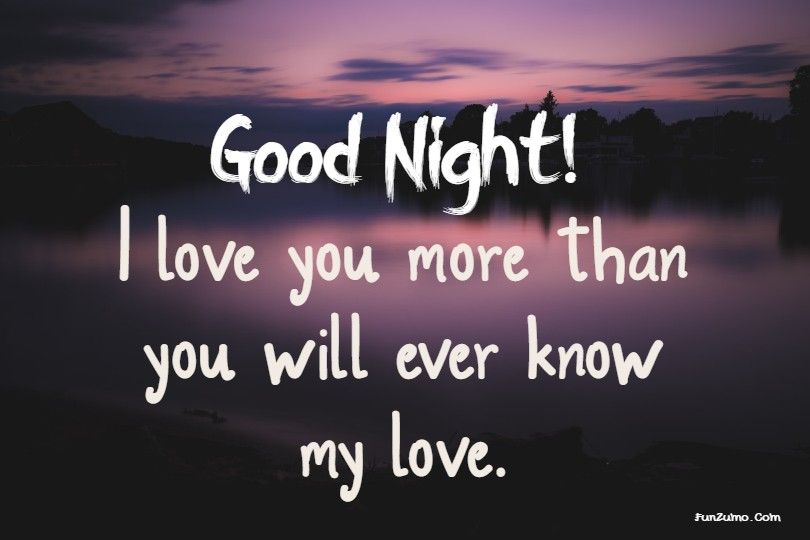 Text night love 103 Goodnight