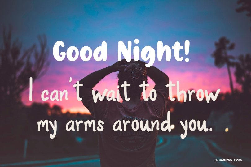 good night messages for love ones