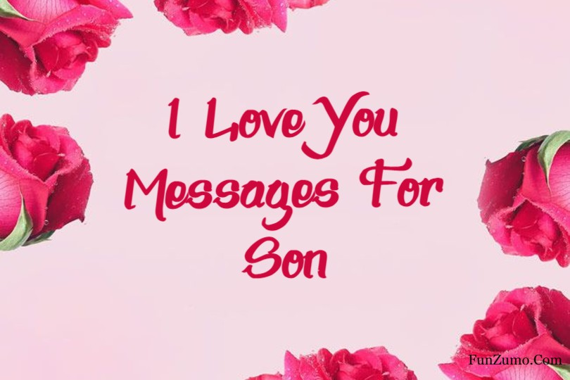 i love you messages for son
