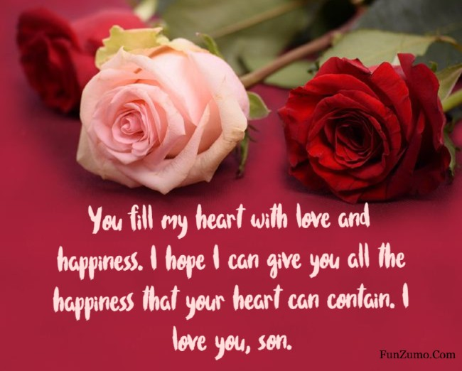 i love you quotes for son