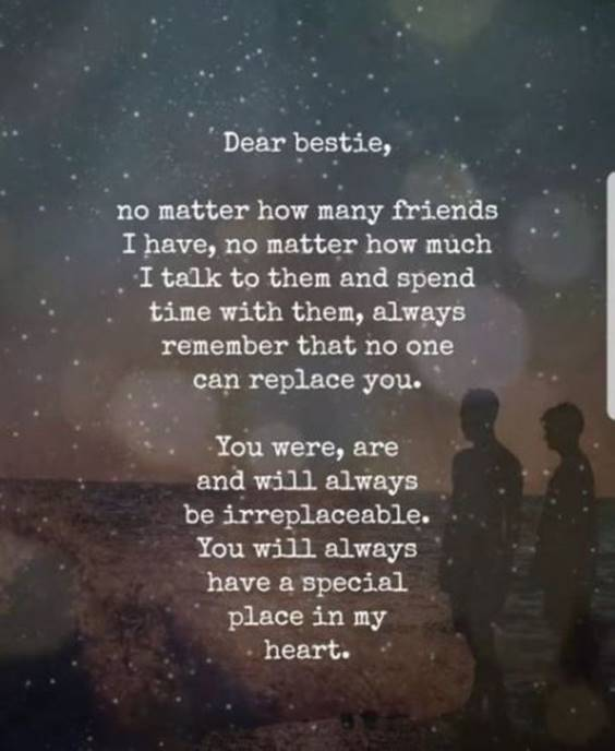 Being A Good Friend Quote on Beautiful Friendship Thoughts