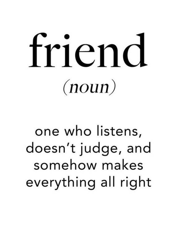 Friendship Inspirational Quotes On Friendship