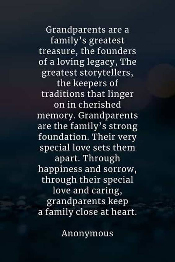 Grandparents Day Quotes And Poems