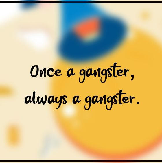 Gangster Quotes About Love