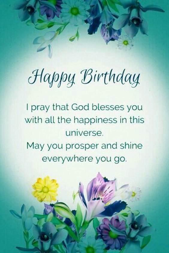 21st birthday prayer
