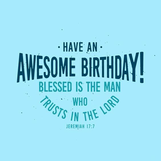 best birthday blessings for a man