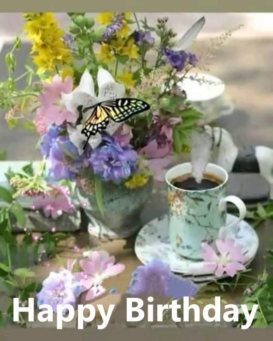best happy birthday flowers wishes