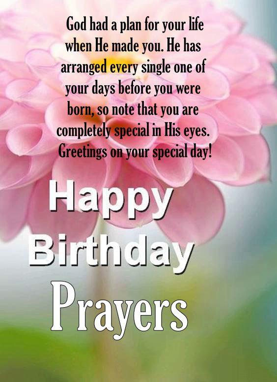 birthday blessing prayer