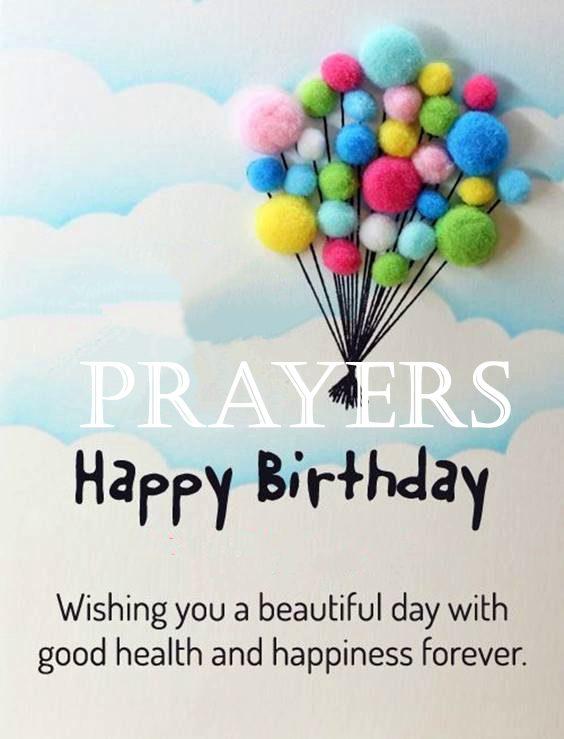 birthday prayer for me