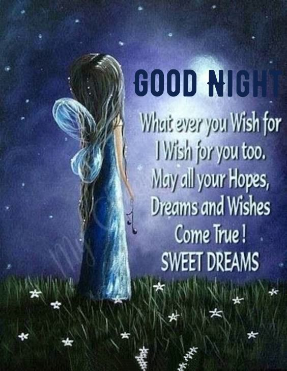 different good night messages