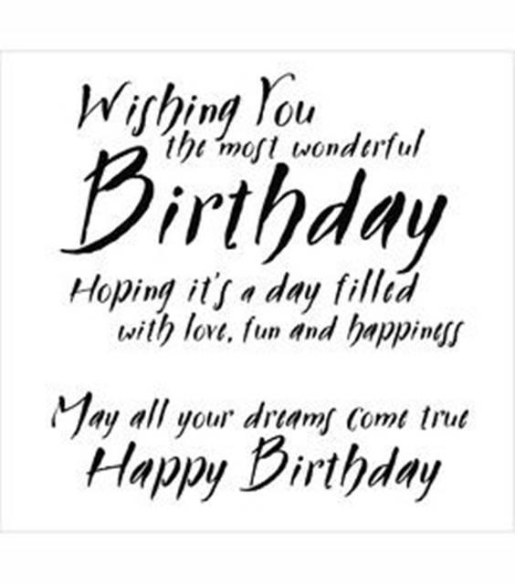 elegant happy birthday wishes