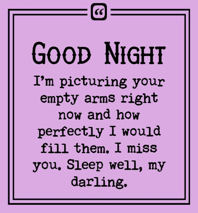 funny flirty goodnight text for him 1