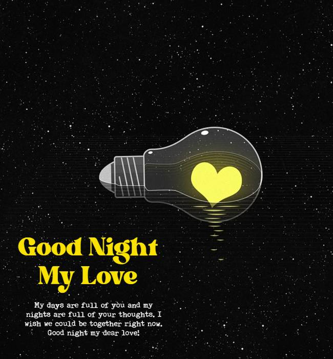 good night love messages for her