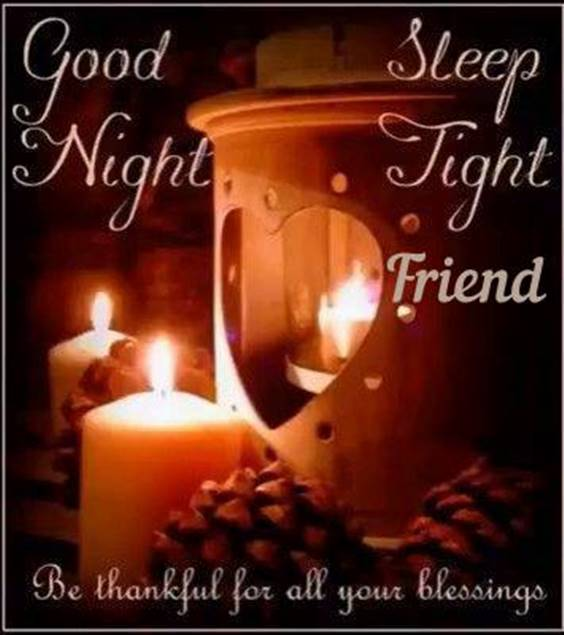 good night my husband
