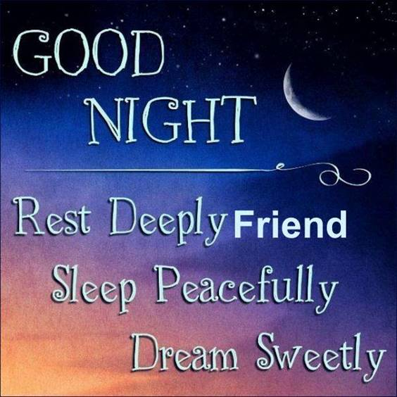 good night text for him