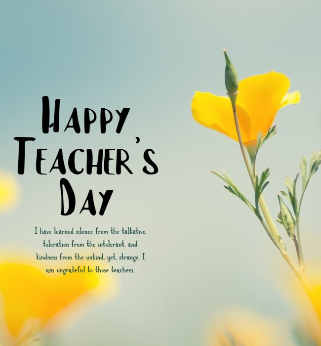 happy teachers day wishes and messages
