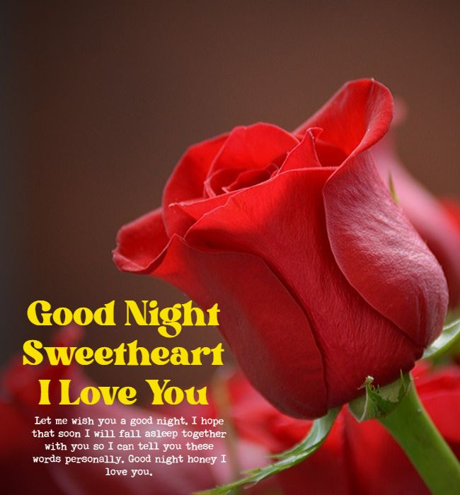 romantic good night wishes