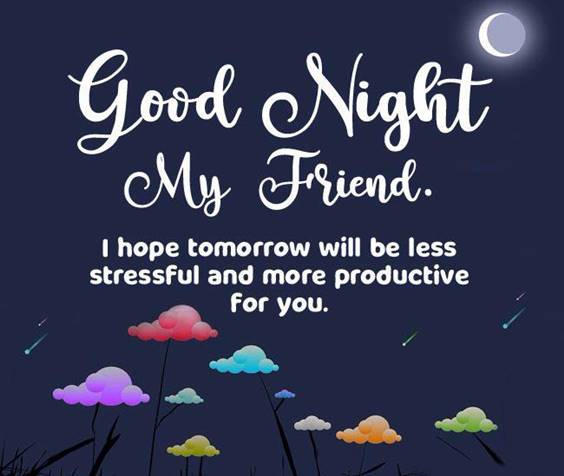 sweet good night text for him