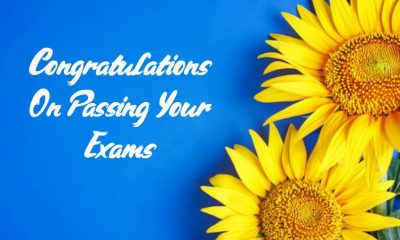 All The Best Wishes Congratulations for Passing Exam and Good Result Quotes Abo